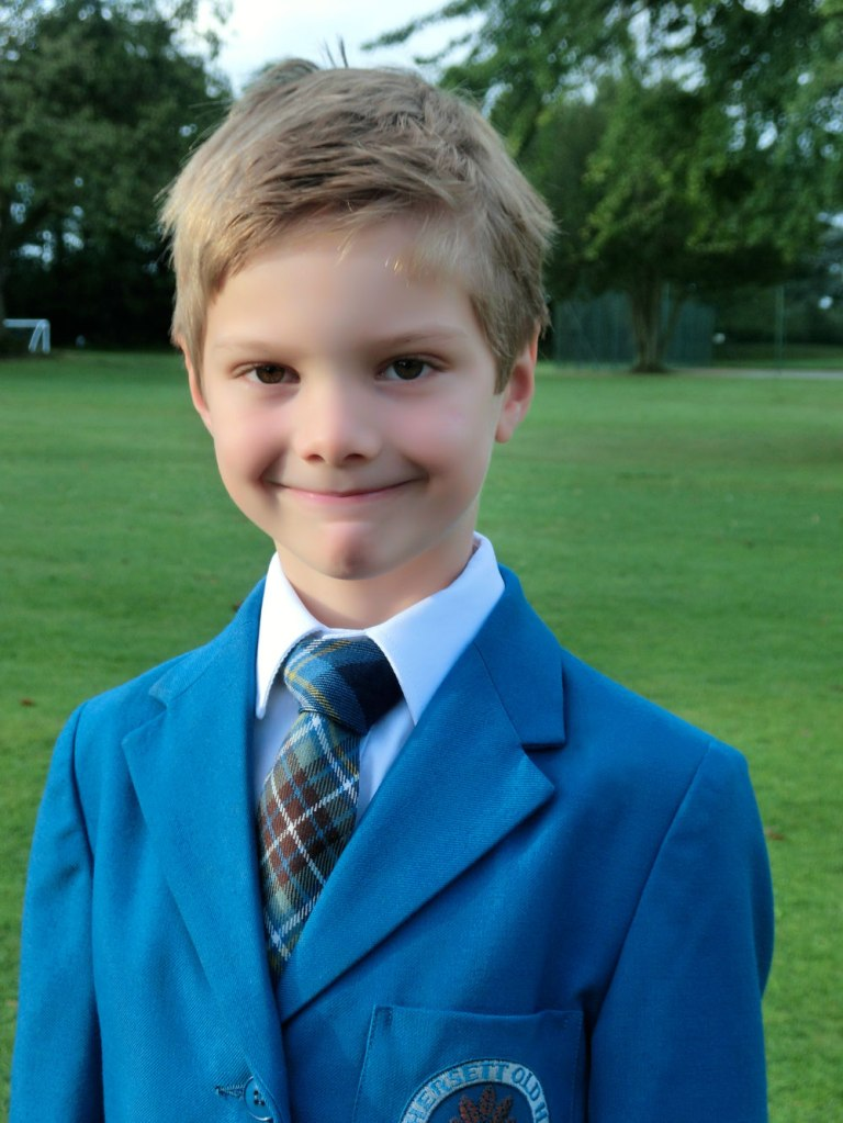 Our new 'royal' school tie