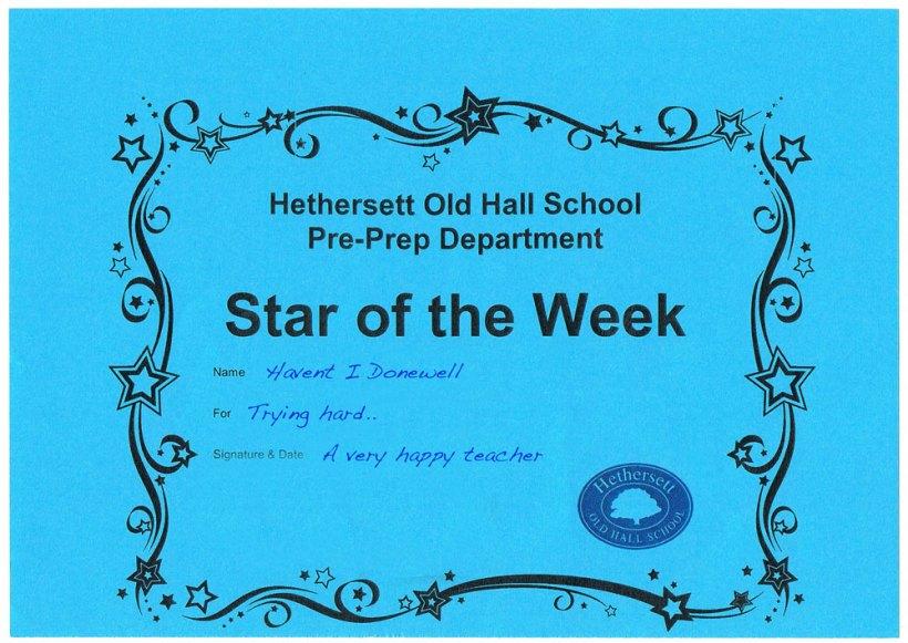 star-of-the-week-cert