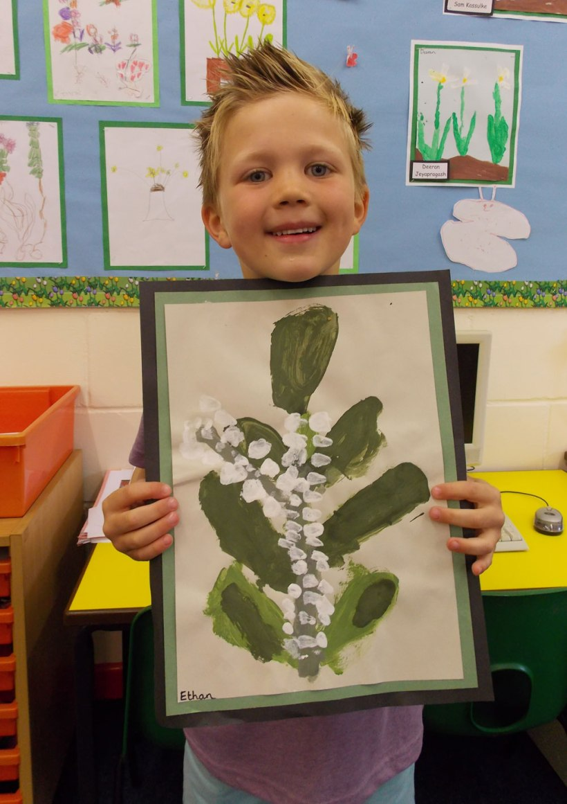 Year-1-Flower-painting