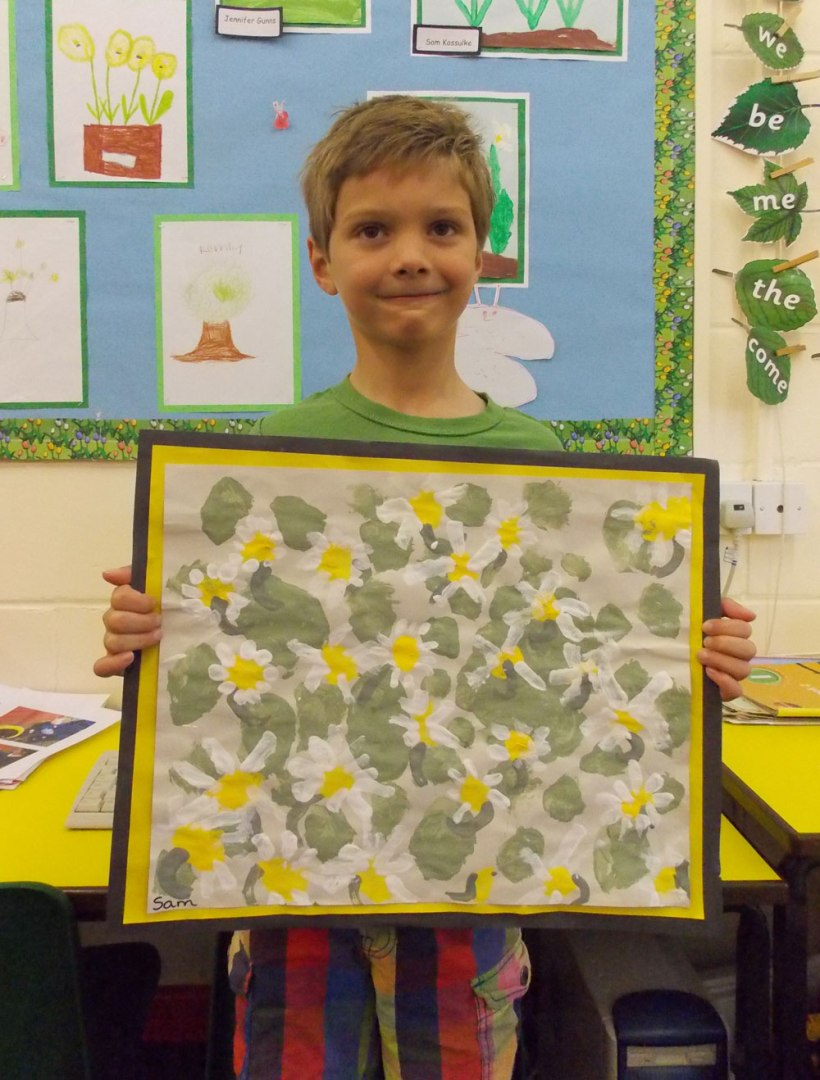 Year-1-Flower-painting3