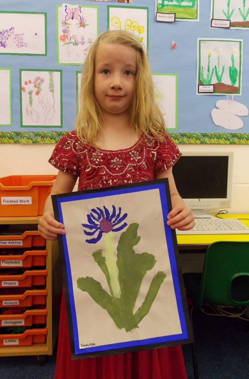 Year-1-Flower-painting7