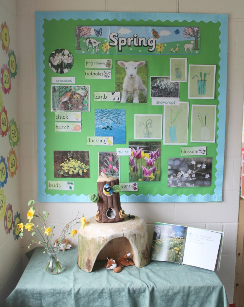 Year-1-spring-display