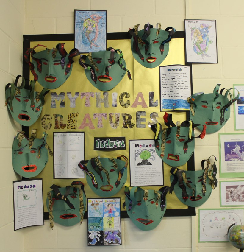 Year-3-mythical-creatures