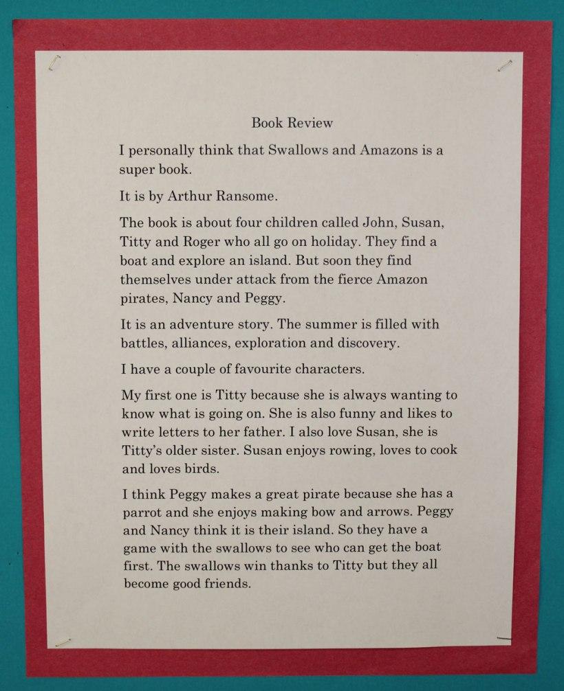 Year-5-Book-Reviews