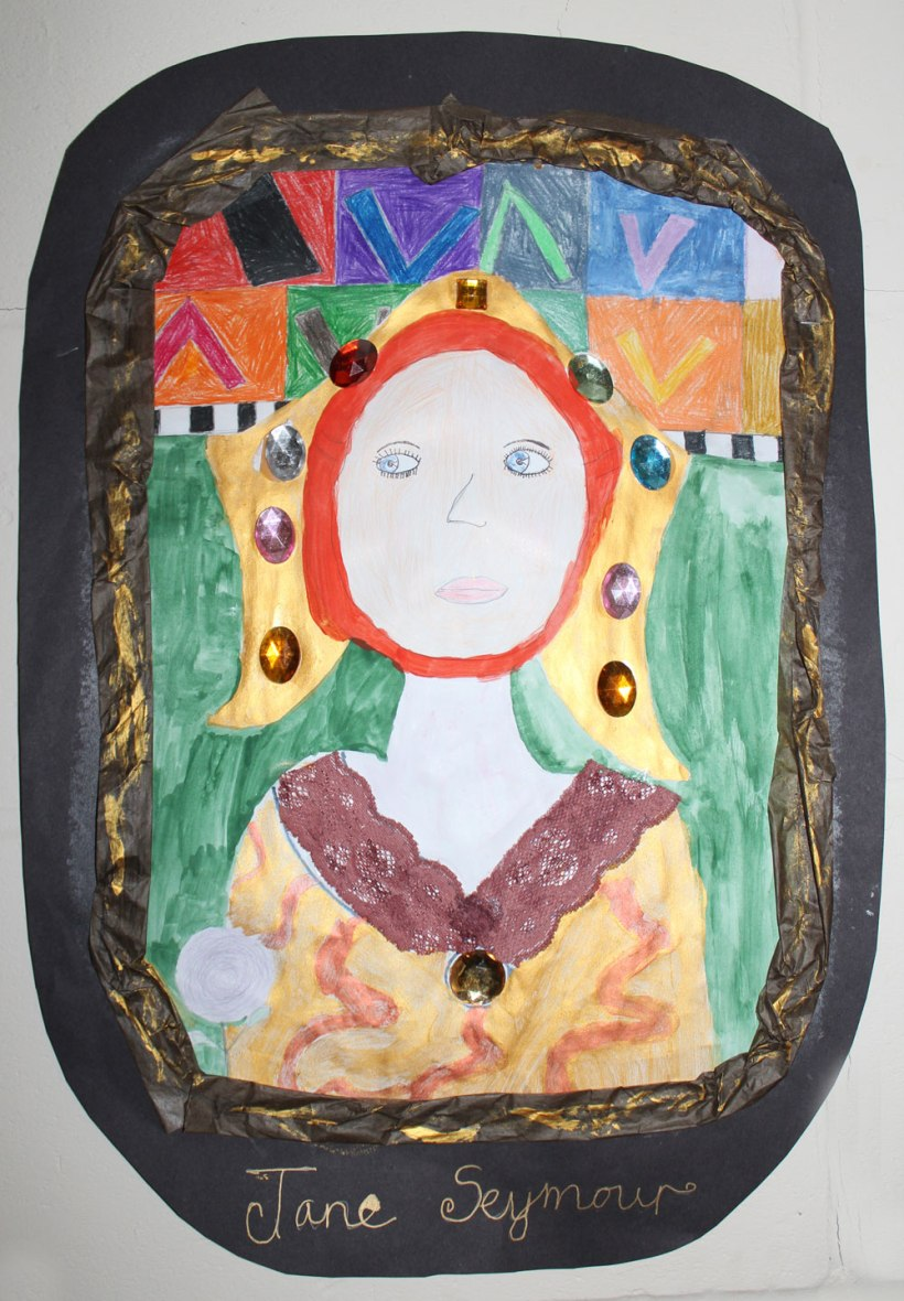 Year-6-Tudor-portraits6