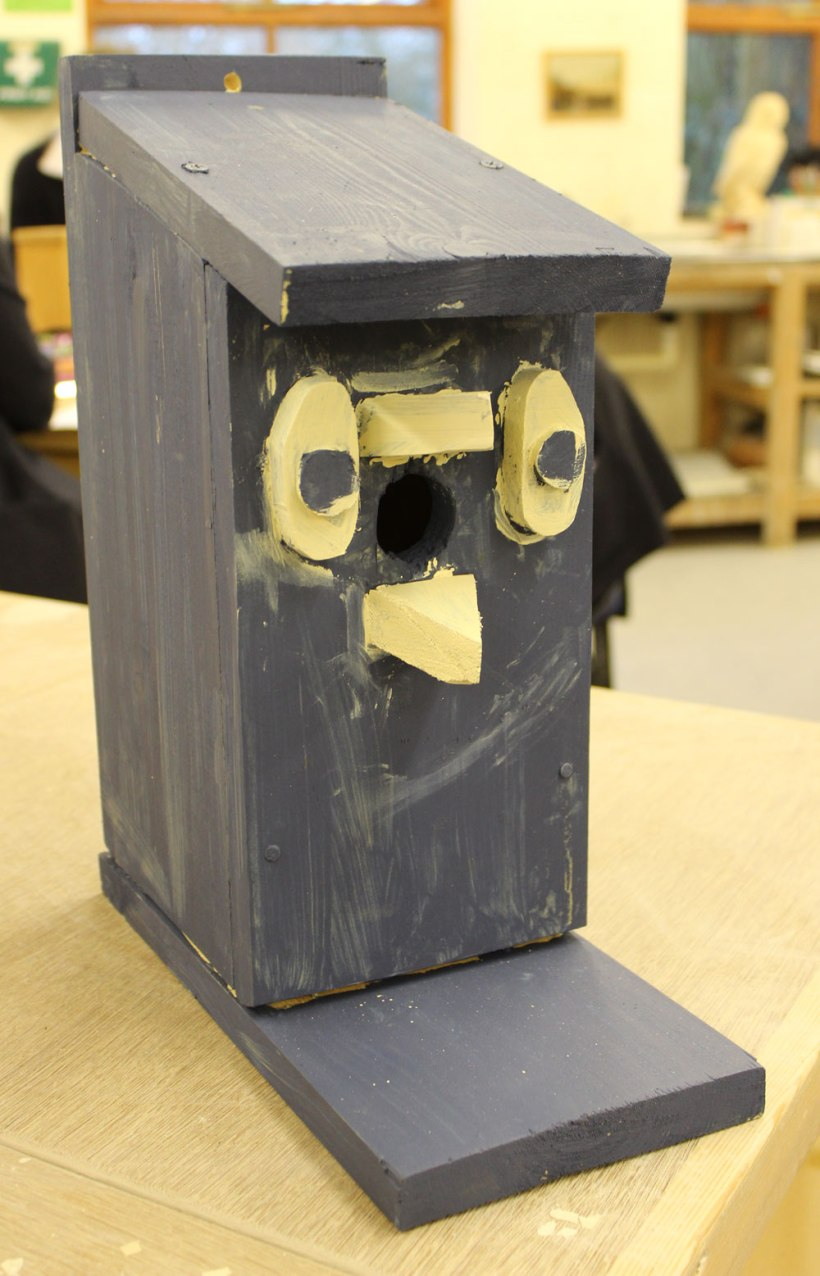 Year-7-woodwork-birdhouses