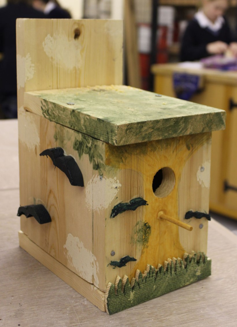 Year-7-woodwork-birdhouses2