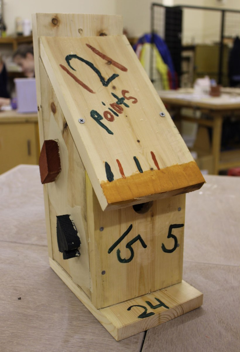 Year-7-woodwork-birdhouses3