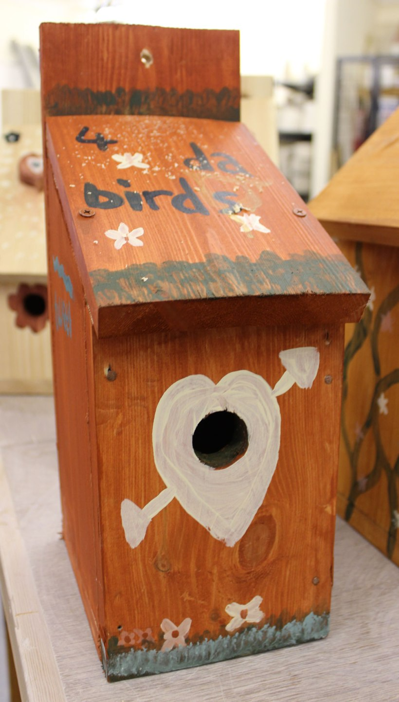 Year-7-woodwork-birdhouses5