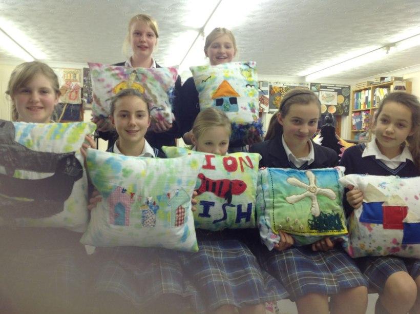 Year-8-textiles-cushions