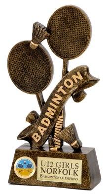 BADMINTON-TROPHY