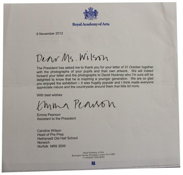 Hockney-letter