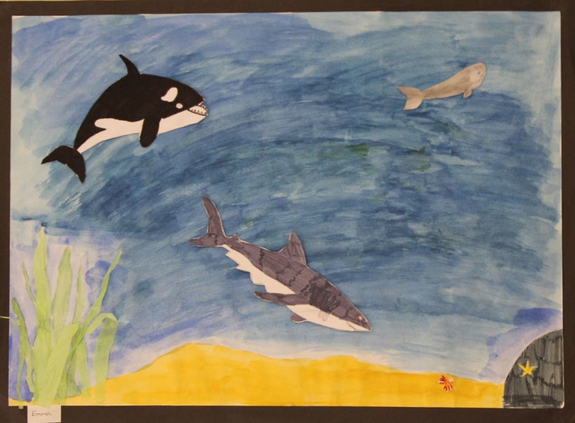 Year-6-under-the-sea-artwork
