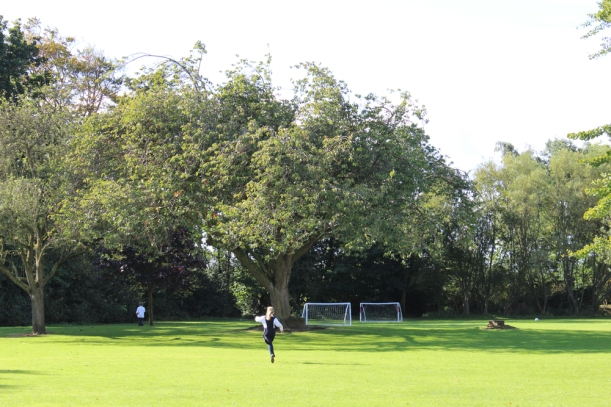 Running in grounds
