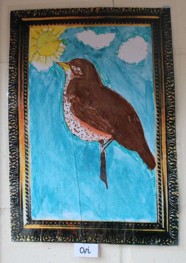 Year-5-bird-painting