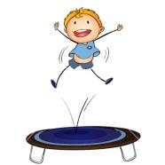 trampoline kid