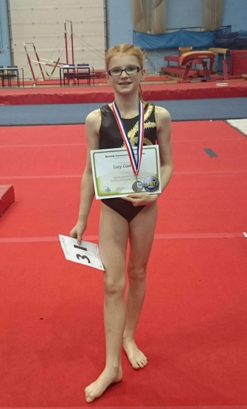 Lucy gymnastics