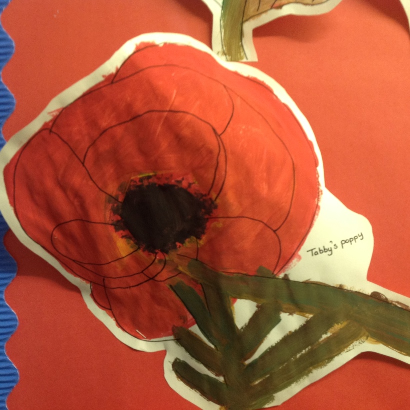 year 3 and 4 poppy artwork2
