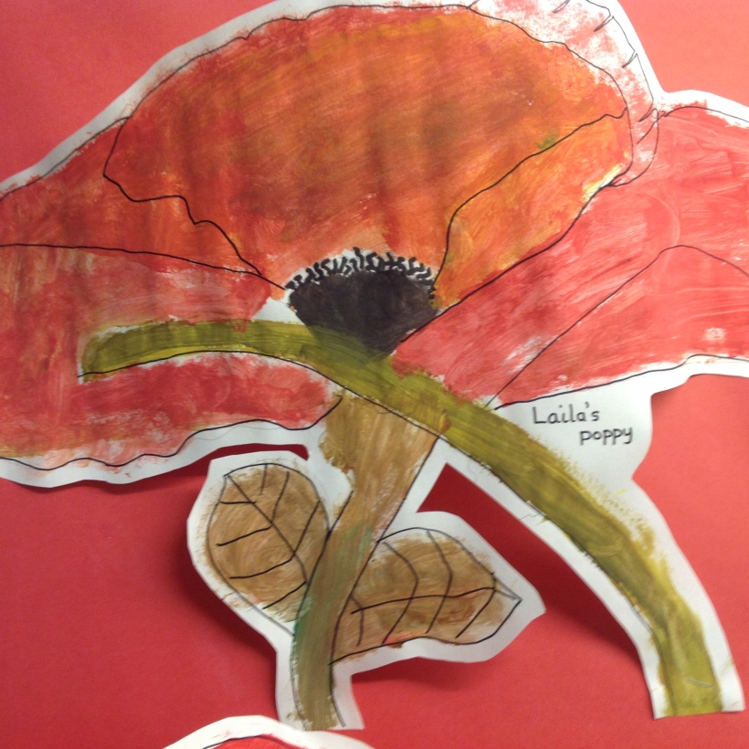 year 3 and 4 poppy artwork3