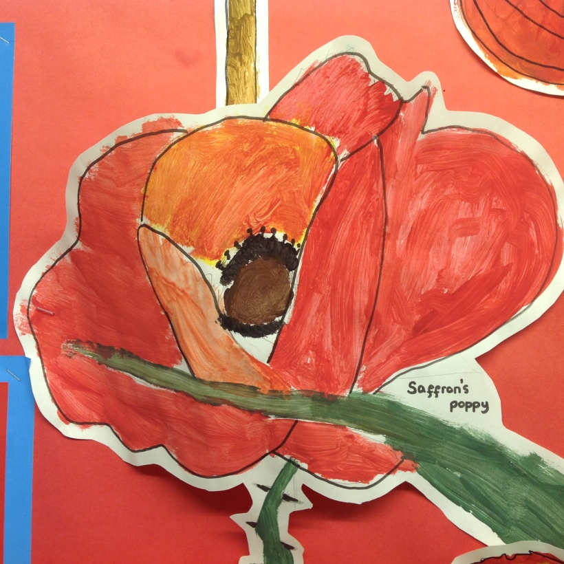 year 3 and 4 poppy artwork5