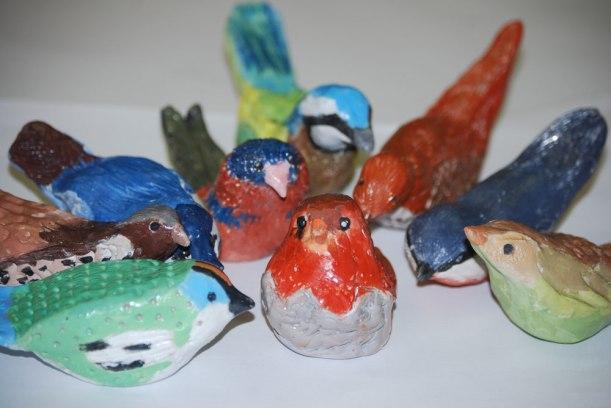 Ceramic-birds