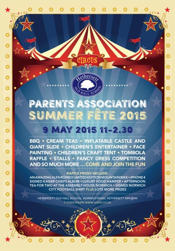 HOHS Summer Fete Poster-A4.indd