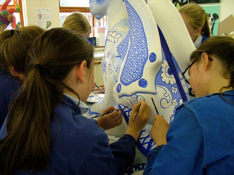 Dragon-painting