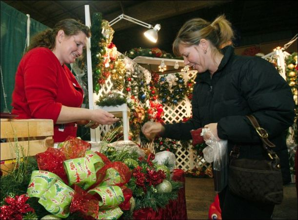 Shopping-the-marketplace-of-holiday-crafts
