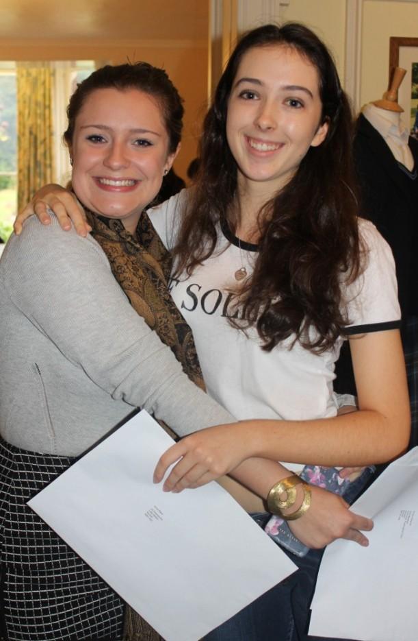 GCSE Emily & Anna