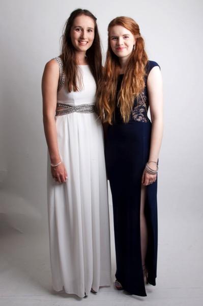 Meg and Hannah