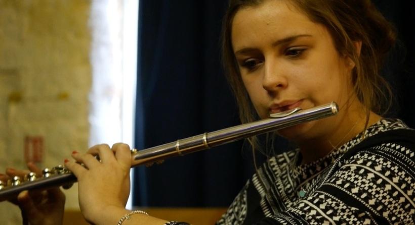 Music festival3_flute
