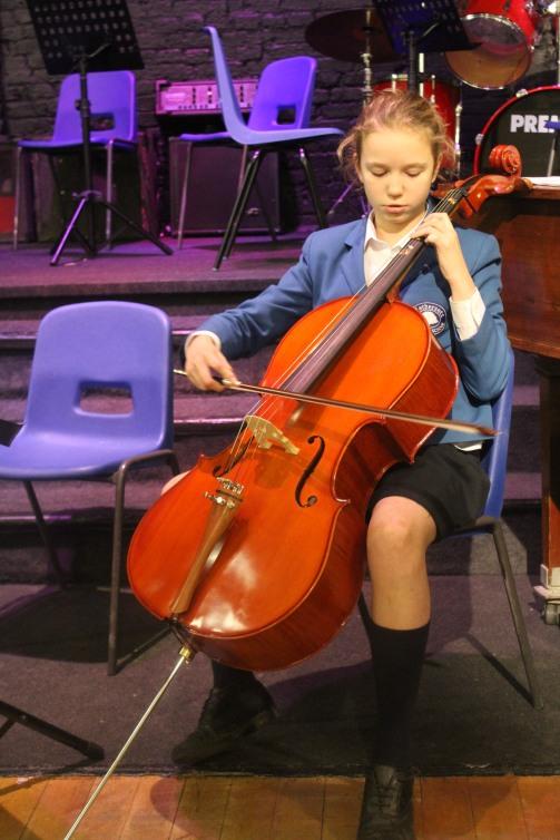 annie Harris cello