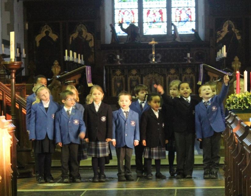 Christingle choir
