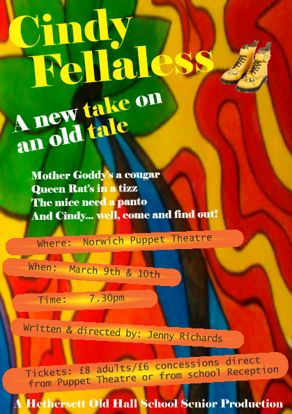 Cindy Fellaless poster 1