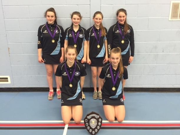 Badminton U14 champs