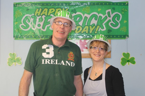 St Patrick's day lunch1