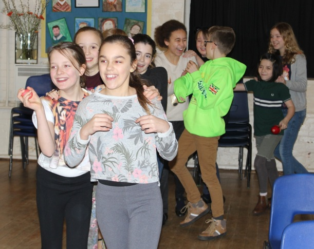Year 6 rainforest conga