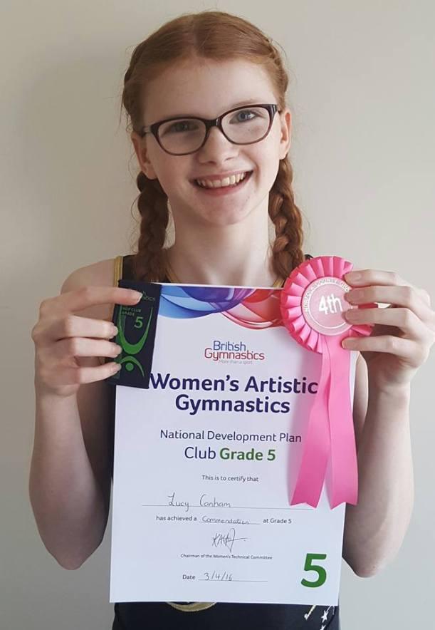 Lucy Canham Grade 5