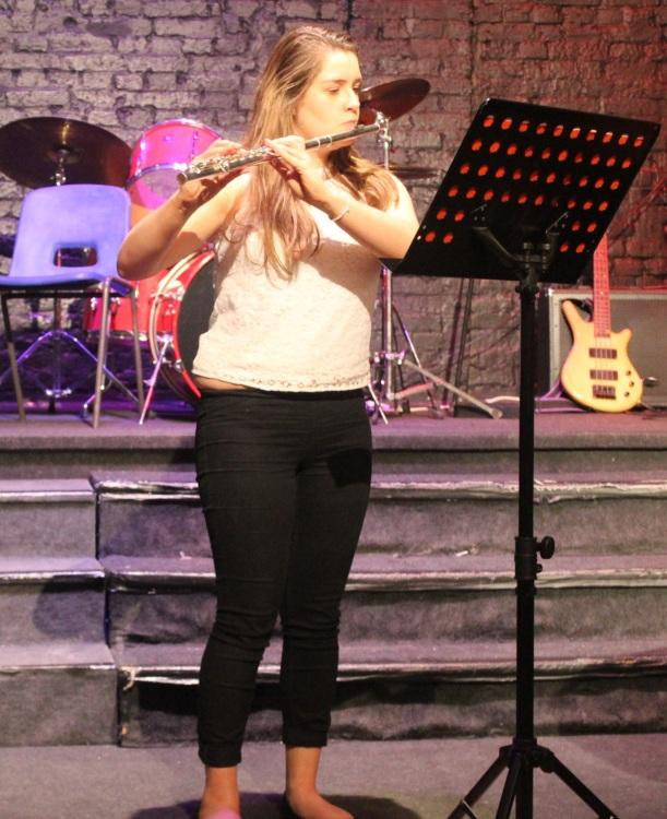 senior recital flute