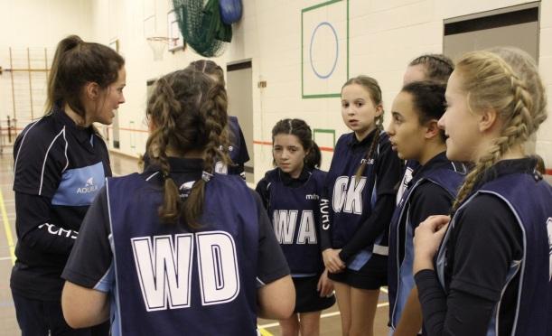 team-talk-netball