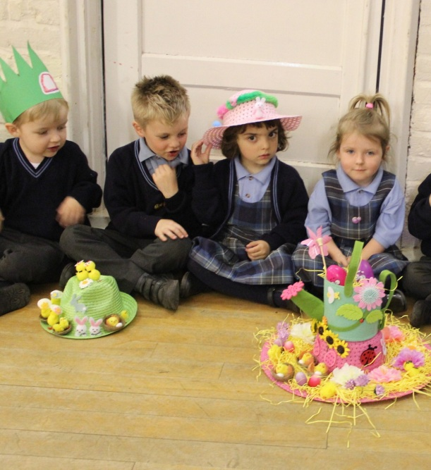 Make your Easter bonnets and decorate an egg!